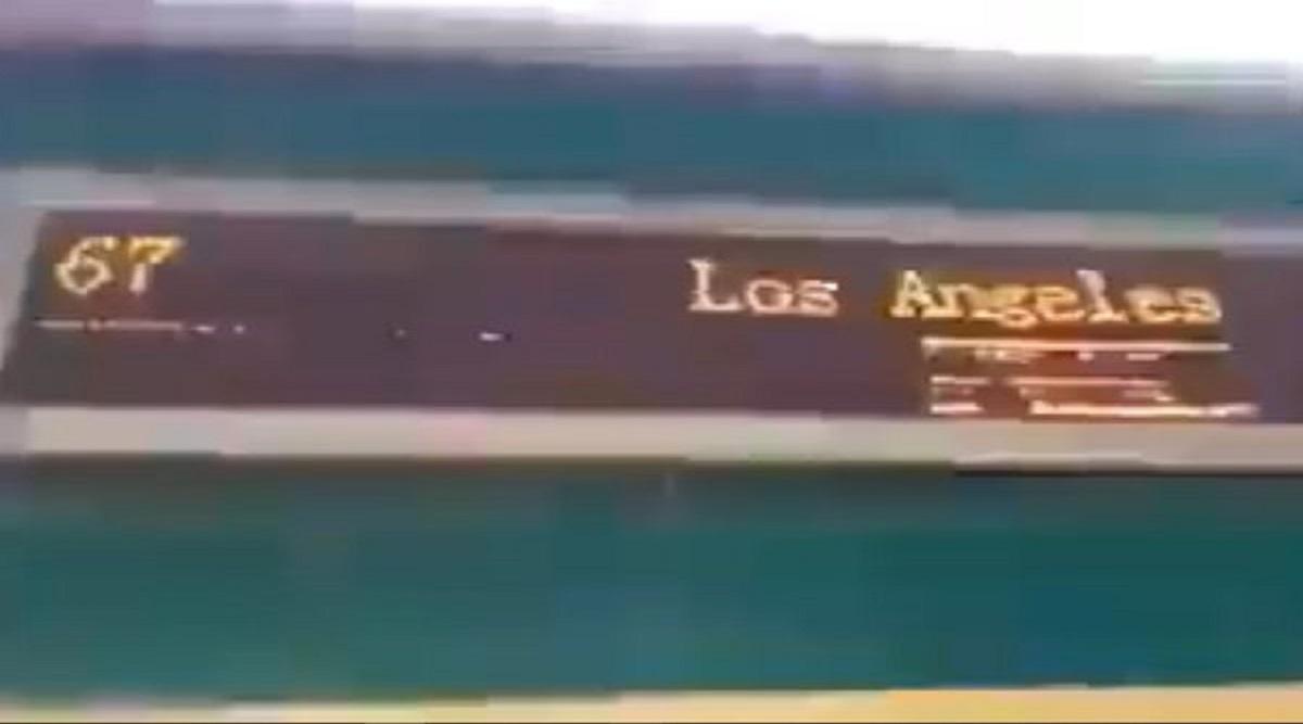 Pakistan Govt Gets Trolled as Train at Sukkur's Rohri Station Flashes 'Los Angeles' as Destination; Railway Minister Sheikh Rashid Responds