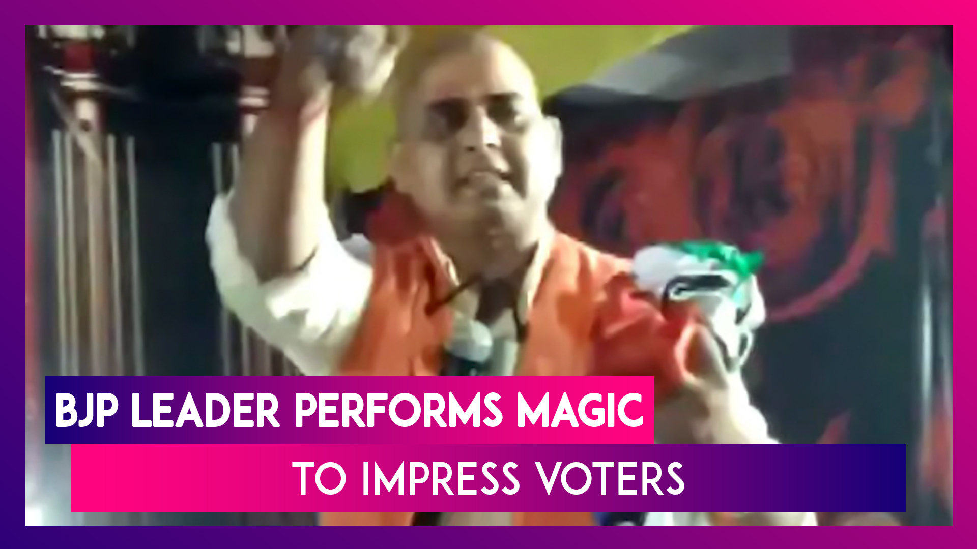 BJP Councilor Performs Magic To Lure Voters In Rampur, UP Ahead Of Bypolls