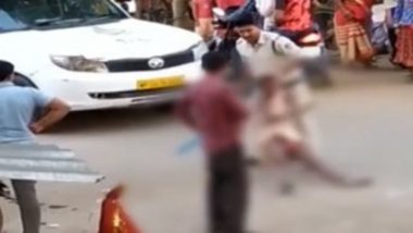 On World Mental Health Day 2019, Shocking Video Surfaces of Madhya Pradesh Cop Brutally Thrashing Mentally Ill Man
