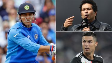 MS Dhoni, Sachin Tendulkar 'Riskiest' Celebrities to Search Online; Cristiano Ronaldo Ranked 10th in McAfee's Most Dangerous Celebrity List of 2019