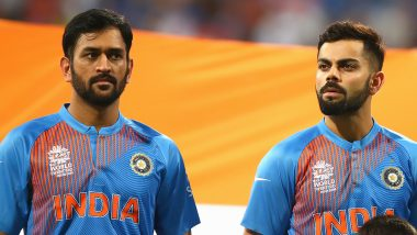 Virat Kohli-MS Dhoni Add Another Feather to Cap, Wish From Indian Skipper on Mahi's Birthday Becomes Most Retweeted Sports-Related Tweet
