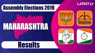 Maharashtra Assembly Elections 2019 Results Highlights: BJP Wins 105 Seats, Shiv Sena 56; NCP 54, Congress 44, Others Get 29