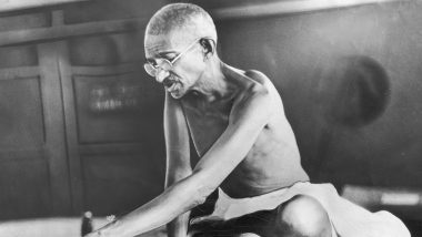 Mahatma Gandhi's Ashes Stolen From Bapu Bhawan on Gandhi Jayanti 2019, Miscreants Write 'Anti-National' on His Picture