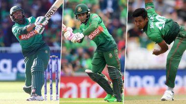 India vs Bangladesh T20I 2019: Mahmudullah, Mushfiqur Rahim and Mustafizur Rahman To Watch Out For During IND vs BAN Series