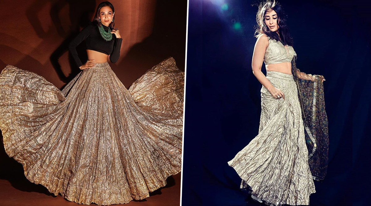 Fashion Face-off: Kareena Kapoor Khan or Malaika Arora - Who Styled this Crinkled Lehenga by Itrh Better? Vote Now
