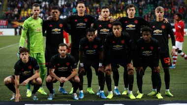 Partizan Belgrade vs Manchester United, UEFA Europa League Live Streaming Online: Where to Watch UEL 2019–20 Group Stage Match Live Telecast on TV & Free Football Score Updates in Indian Time?