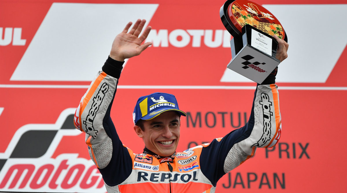 MotoGP Japan 2019: Marc Marquez Wins Grand Prix