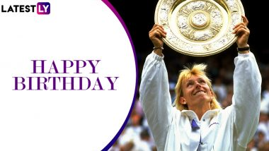 Martina Navratilova Birthday Special: A Look at Some Incredible Records Held by Tennis Great
