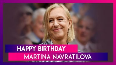 Martina Navratilova Birthday Special: A Look At Records Of Former Tennis Great As She Turns 63