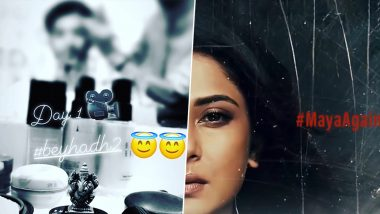 Beyhadh 2: Shivin Narang Kick-Starts Shooting for Jennifer Winget's Show, Shares Pic From the Sets