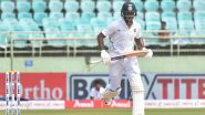 Mayank Agarwal Registers 3rd Test Century During India vs Bangladesh 2nd Test 2019, Helps India Cross 200-Run Mark