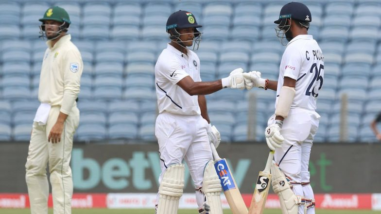 India vs Bangladesh, 1st Test 2019, Day 2 Stat Highlights: Mayank Agarwal's 2nd Double Ton, Virat Kohli's 10th Duck in Tests and Other Records