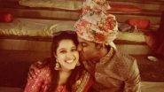 Mayank Agarwal and Wife Aashita Sood Celebrate Karwa Chauth 2019! Indian Cricketer Posts a Sweet Kissing Pic With a Lovely Message