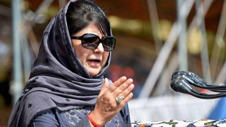 Mehbooba Mufti Says 'Access to Internet is a Fundamental Right', Tweets 'Kashmir's Under Inhuman Lockdown' After Abrogation of Article 370