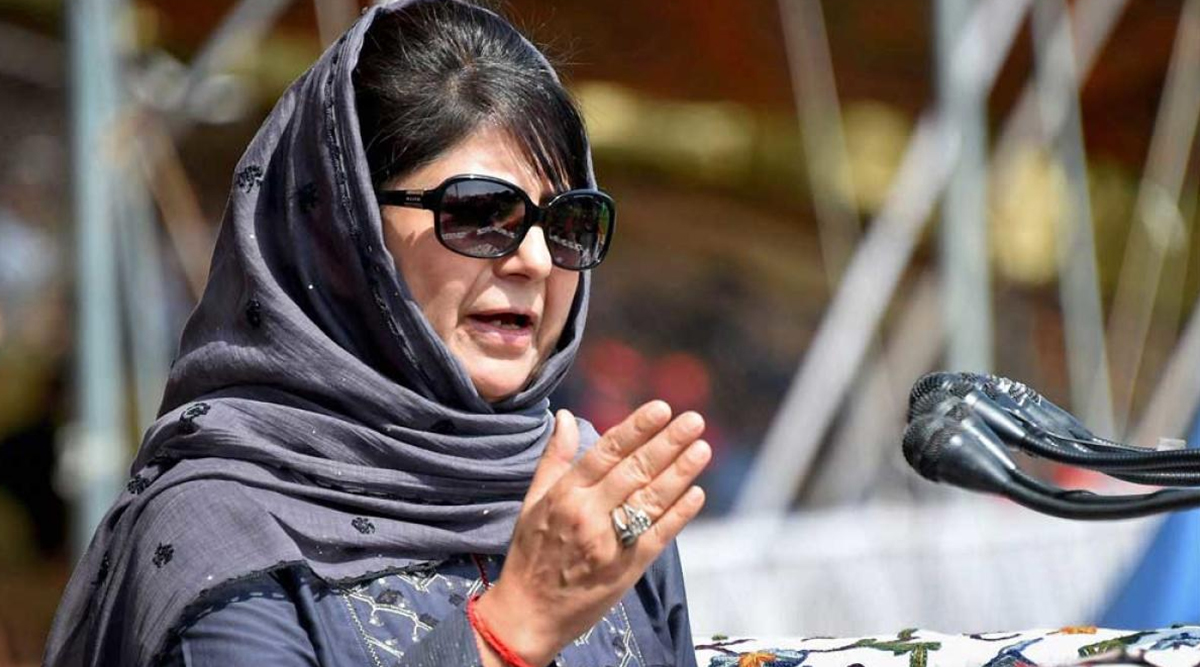 Mehbooba Mufti on Visit of European Parliament Delegation to Jammu and Kashmir, Says 'Lose-Lose Situation' For Govt'
