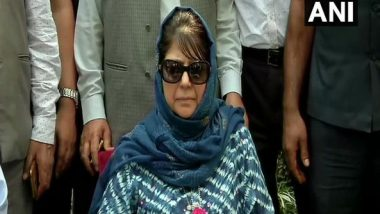 Jammu and Kashmir: 10-Member PDP Delegation to Meet Mehbooba Mufti Tomorrow