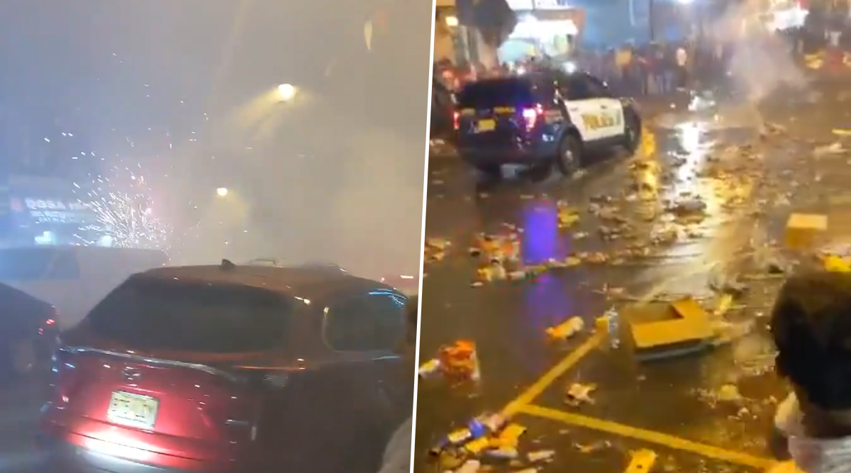 Diwali Celebrations Lead to Chaos on New Jersey Streets, NRIs Call Out Uncivic Revellers (Watch Video)