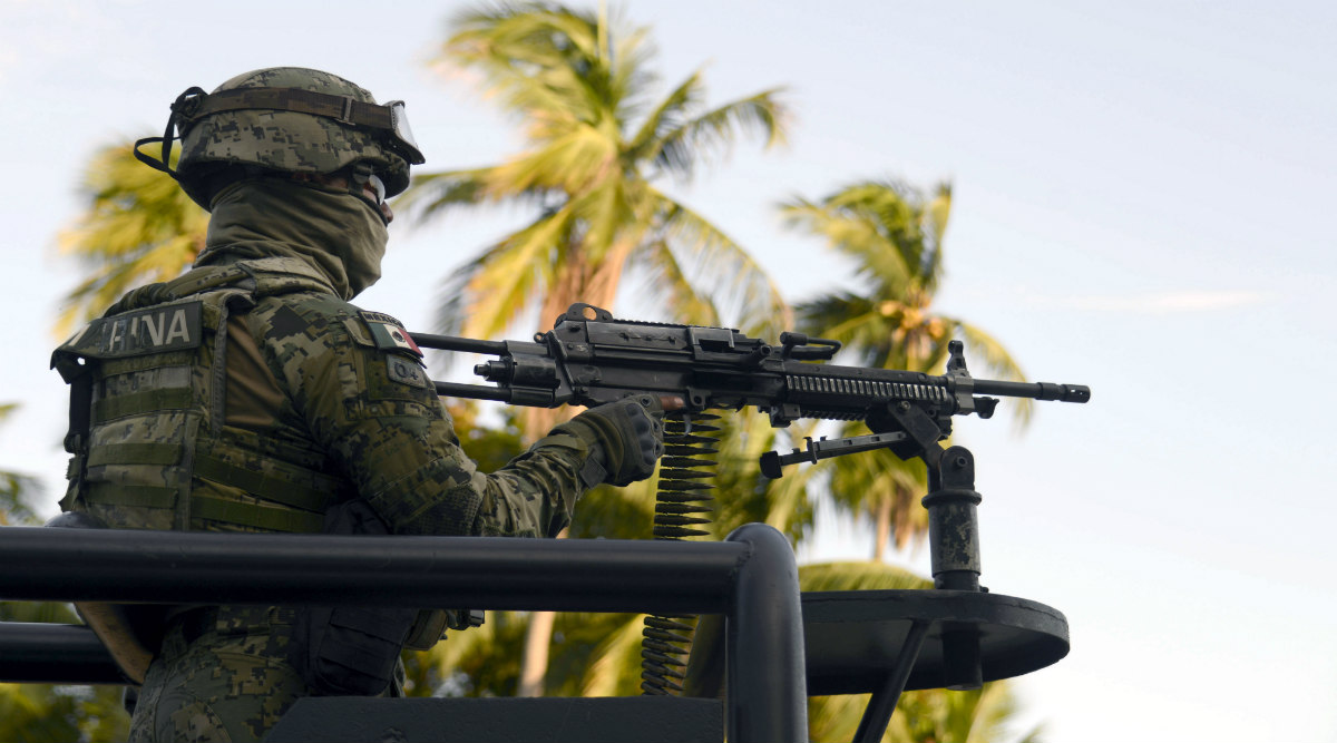Mexican Town Turned to War Zone Fears New Era of Narco Violence