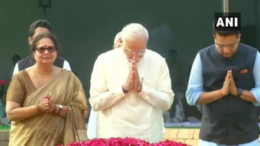 PM Narendra Modi Pays Tribute to Lal Bahadur Shastri on His 115th Birth Anniversary