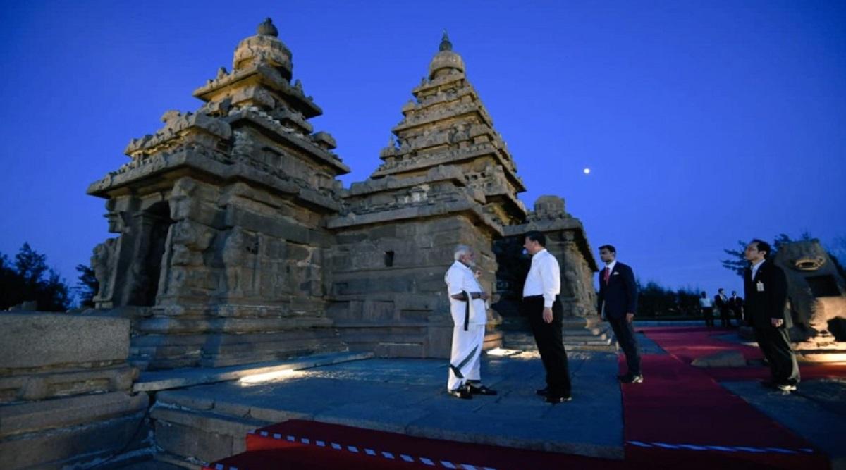Narendra Modi-Xi Jinping Summit in Malappuram: Pallava Architecture, Cultural Event at Shore Temple Sum Up Day 1 of Informal Meet