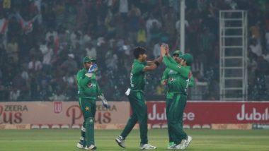 Mohammad Hasnain Becomes the Youngest Bowler to Claim Hat-trick in T20Is During PAK vs SL, 1st T20I