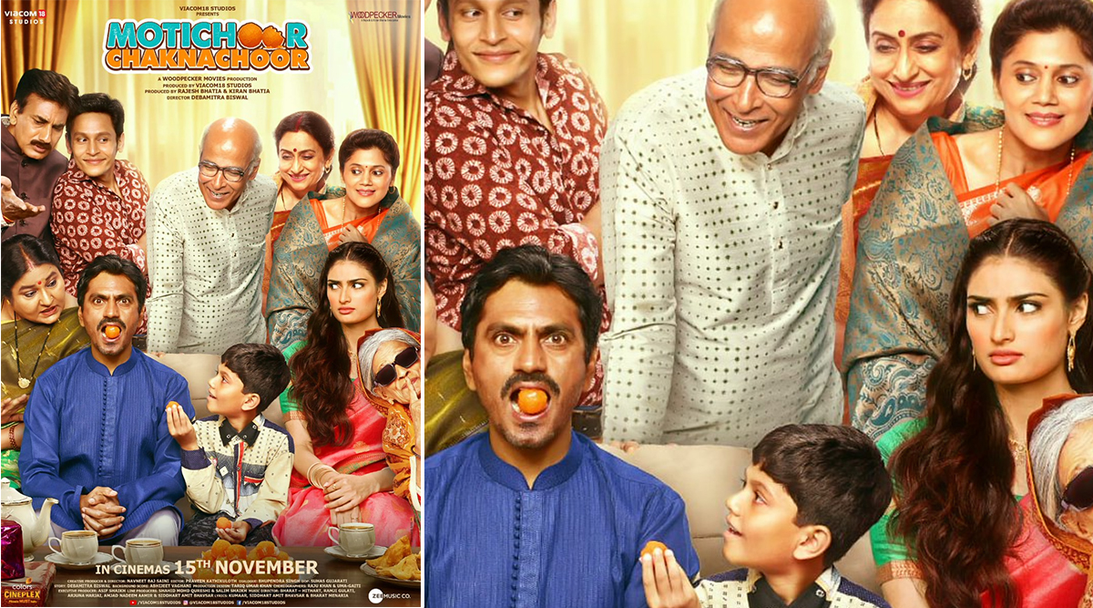 Motichoor Chaknachoor: Nawazuddin Siddiqui, Athiya Shetty Are Typical Newlyweds in Latest Poster