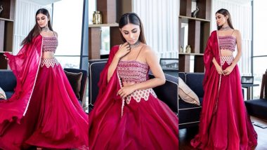 Diwali 2019: Mouni Roy's Simple, Sweet And Sublime Pink Ridhima Bhasin Lehenga Could Be Your Style Inspiration!