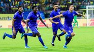 ISL 2019–20 BCFC 2–3 MCFC Result: Rowllin Borges' 94th Minute Goal Helps Mumbai City Beat Bengaluru FC in a Nail-Biting Clash
