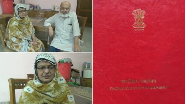 Pakistani Woman, Married to a Man in Muzaffarnagar, Gets Indian Citizenship After 34 Years of Marriage