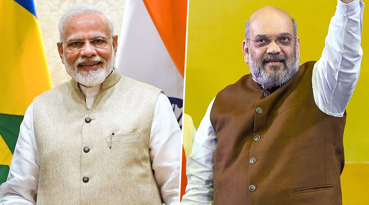 PM Narendra Modi Wishes Amit Shah on 55th Birthday, Terms Home Minister as 'Dedicated & Experienced Member of Party'