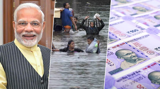 Narendra Modi Govt Releases Rs 400 Crore Relief Package for Bihar Floods, Karnataka Gets Rs 1200 Crore