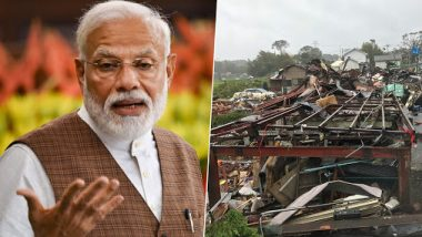 Typhoon Hagibis in Japan: PM Narendra Modi Expresses Condolences to Victims' Kin, Wishes Early Recovery From Devastation