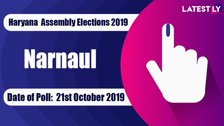 Narnaul Vidhan Sabha Constituency in Haryana: Sitting MLA, Candidates For Assembly Elections 2019, Results And Winners