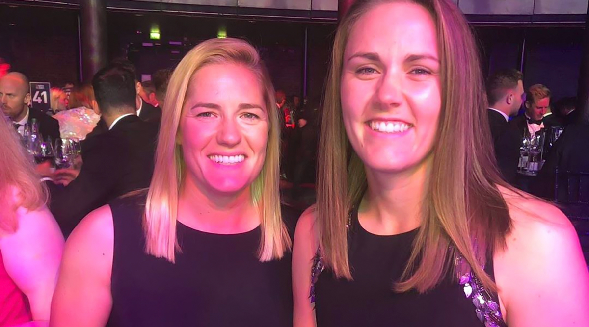 Natalie Sciver and Katherine Brunt Get Engaged, England Women Cricketers Share Engagement Ceremony Photos on Instagram