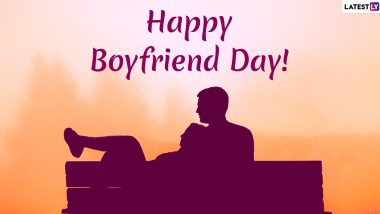 Happy National Boyfriend Day 2019 Greetings: Cute Wishes, Greetings, GIFs, WhatsApp Stickers, Facebook Status, Romantic Messages and SMS to Send Your BF!