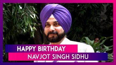 Navjot Singh Sidhu 56th Birthday: Interesting Facts About The Cricketer-Turned-Politician