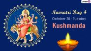 Navratri 2020 Kushmanda Puja: Know The Colour and Goddess of Day 4 to Worship The Fourth Avatar of Maa Durga This Sharad Navaratri