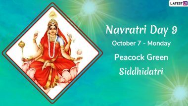 Navratri 2019 Day 9 Colour and Goddess: Worship Devi Siddhidatri, the Ninth Avatar of Maa Durga This Sharad Navaratri