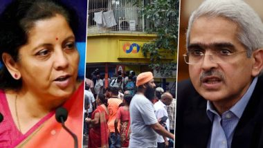 PMC Bank Crisis: RBI Governor Shaktikanta Das Assures Nirmala Sitharaman To Keep Clients and Their Concerns on Top Priority, FM Says Govt 'Understands Justified Worries of Customers'