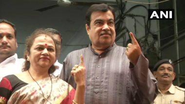 Maharashtra Assembly Elections 2019: Nitin Gadkari Votes, Predicts 'Record-Breaking' Win For BJP-Shiv Sena