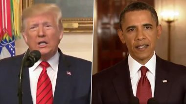 Donald Trump's Al-Baghdadi Speech VS Barack Obama's Bin Laden Speech; This Jimmy Kimmel Mashup Is Funny AF? (Watch Video)