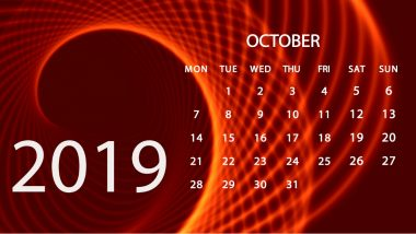 October 2019 Festivals, Events and Holiday Calendar: Dussehra, Karwa Chauth, Diwali; Know All Important Dates and List of Fasts for the Month