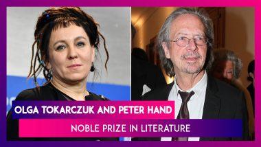 Nobel Prize In Literature Awarded To Polish Author Olga Tokarczuk And Austrian Writer Peter Handke