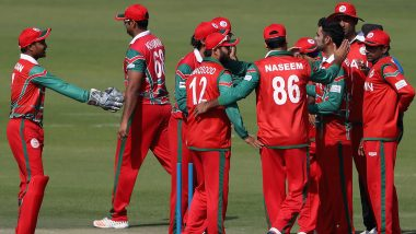 Live Cricket Streaming of Oman vs Nepal 10th T20I Match Online: Check Live Cricket Score, Watch Free Telecast of Pentangular Oman T20I 2019 Series on 'HamroKhel Nepal' YouTube Channel