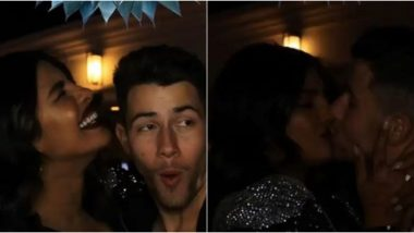Priyanka Chopra and Nick Jonas Kiss and Cuddle as They Party in Vegas and Fans Can't Stop Gushing About Them (See Pics)