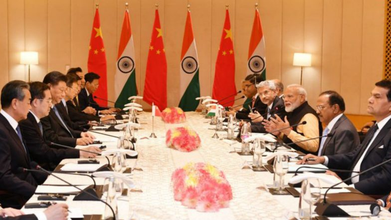 PM Narendra Modi at Delegation-Level Meet With Xi Jinping: Chennai Vision Starts New Chapter in India-China Relations
