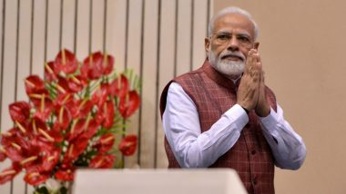 Eid-E-Milad-Un-Nabi 2019: PM Narendra Modi Wishes Muslims on Prophet Mohammed's Birthday
