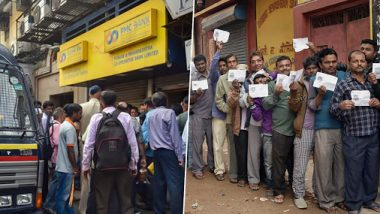 PMC Bank Crisis to Impact Maharashtra Assembly Elections 2019? Depositors Seek Access to Their Money with Placards Saying 'No Solution, No Vote'