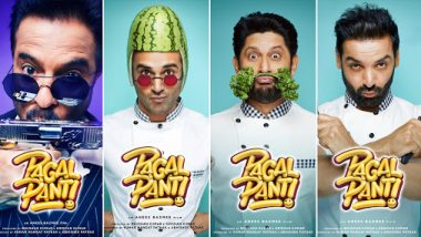 Pagalpanti New Posters: John Abraham, Anil Kapoor, Arshad Warsi And Pulkit Samrat Are Cooking Up A Storm (View Pics)