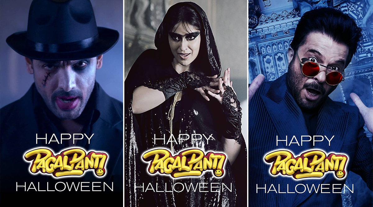 Pagalpanti: John Abraham, Ileana D'Cruz, Anil Kapoor and others Celebrate Halloween via These New Posters - Check Out